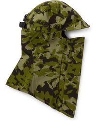 a30ee75bb Nike - + Matthew Williams Beryllium 2.0 Tailwind Camouflage-print Cotton  Balaclava - Lyst