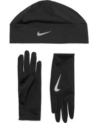 Nike - Dri-fit Cap And Gloves Set - Lyst