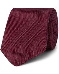 Kingsman - + Drake's 8cm Silk-grenadine Tie - Lyst