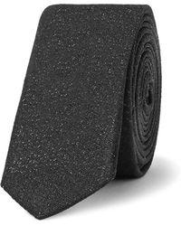 Saint Laurent - 4cm Silk-blend Tie - Lyst