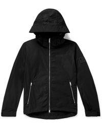 Burberry - Loqo-appliquéd Shell Hooded Jacket - Lyst