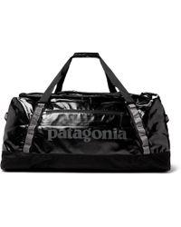 Patagonia - Black Hole 90l Logo-print Ripstop Duffle Bag - Lyst