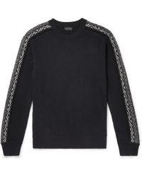 Club Monaco - Slim-fit Fair Isle Wool Sweater - Lyst