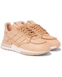 adidas Originals - + Hender Scheme Zx 500 Rm Mt Leather Sneakers - Lyst