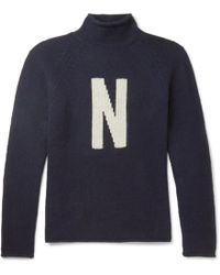 Norse Projects - Thore N Intarsia Wool Jumper - Lyst