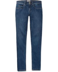 Loro Piana - Slim-fit Stretch-denim Jeans - Lyst