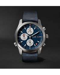 Bremont - Alt1-zt Automatic Chronograph 43mm Stainless Steel And Leather Watch - Lyst