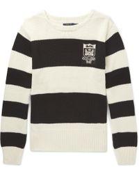 Polo Ralph Lauren - Striped Cotton Jumper - Lyst