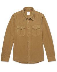 Visvim - Elk Cotton-flannel Shirt - Lyst