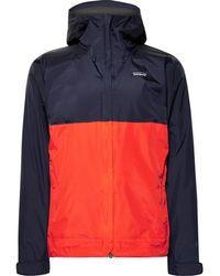 Patagonia - Torrentshell Waterproof H2no Performance Standard Ripstop Hooded Jacket - Lyst