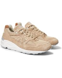 New Balance 997V1 Suede and Mesh Sneakers cheap price factory outlet lUpZ8JZyL