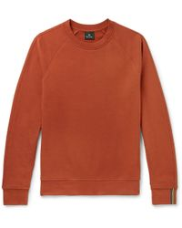 PS by Paul Smith - Loopback Cotton-jersey Sweatshirt - Lyst