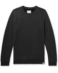 Derek Rose - Devon Mélange Loopback Cotton-jersey Sweatshirt - Lyst