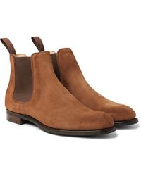 Cheaney - Godfrey Suede Chelsea Boots - Lyst