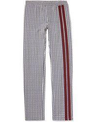 Valentino - Logo-print Virgin Wool-twill Drawstring Trousers - Lyst