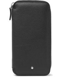 Montblanc - Meisterstück Full-grain Leather Watch Roll - Lyst