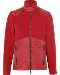 Moncler Grenoble | Shell-panelled Fleece Mid-layer Jacket | Lyst