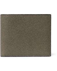Valextra - Pebble-grain Leather Billfold Wallet - Lyst