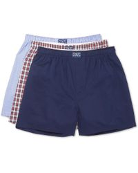 Polo Ralph Lauren - Three-pack Cotton-poplin Boxer Shorts - Lyst