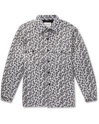 Noon Goons - Leopard-print Fleece Shirt Jacket - Lyst