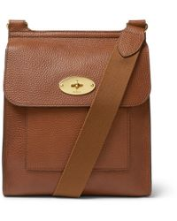 2e0a5bf62b1 Mulberry Henry Laptop Messenger Bag in Brown for Men - Lyst