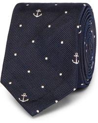Thom Browne - 5cm Silk-jacquard Tie - Lyst