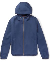 Loro Piana - Rain-system Stretch-shell Hooded Jacket - Lyst