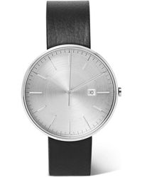 Uniform Wares - M40 Precidrive Stainless Steel And Leather Watch - Lyst