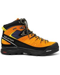 Yves Salomon - X Alp Gore-tex, Suede And Rubber Hiking Boots - Lyst