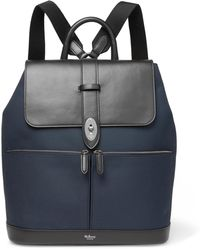 Mulberry - Reston Canvas And Leather Backpack - Lyst