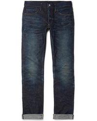 Fabric-Brand & Co. - Doran Slim-fit Selvedge Denim Jeans - Lyst