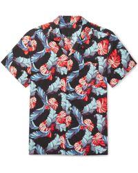 J.Crew - Camp-collar Printed Linen And Cotton-blend Shirt - Lyst