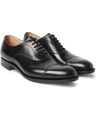 Church's - Dubai Polished-leather Oxford Shoes - Lyst