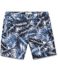 Onia - Calder Mid-length Printed Swim Shorts - Lyst