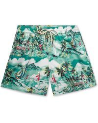dcf462e5a186a Lyst - Polo Ralph Lauren Traveller Mid-length Swim Shorts in Pink ...