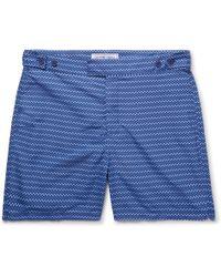 Frescobol Carioca - Copacabana Long-length Printed Swim Shorts - Lyst