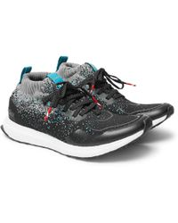 adidas Originals - - Packer And Solebox Ultra Boost Mid Primeknit Sneakers - Black - Lyst