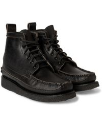 Yuketen - Maine Guide 6-eye Waxed-leather Boots - Lyst