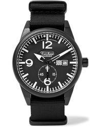Techne | Harrier 386 41mm Aluminium And Nylon Watch | Lyst