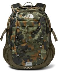 The North Face - Borealis Camouflage-print Canvas Backpack - Lyst