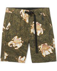 Nike - Lab Nrg Floral-print Cotton Shorts - Lyst