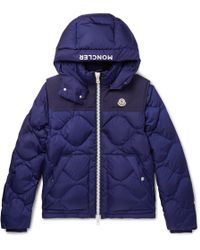 Moncler - Arles Quilted Shell Hooded Down Jacket With Detachable Sleeves - Lyst