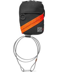 Off-White c/o Virgil Abloh - Leather-trimmed Canvas Camera Bag - Lyst