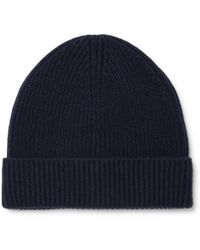 J.Crew - Ribbed Cashmere Beanie - Lyst