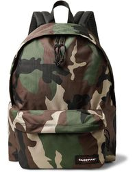 Eastpak - Padded Pak'r Xl Camouflage Canvas Backpack - Lyst
