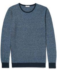 Boglioli - Two-tone Mélange Knitted Jumper - Lyst