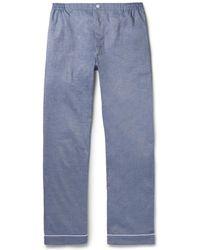 Sleepy Jones - Marcel Mercerised Cotton Pyjama Trousers - Lyst