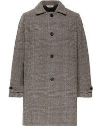 Aspesi - Herringbone Wool Coat - Lyst