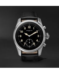 Montblanc - Summit 2 42mm Stainless Steel And Leather Smart Watch - Lyst