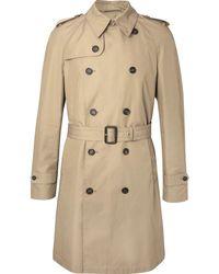 Dunhill - Cotton-blend Gabardine Trench Coat - Lyst
